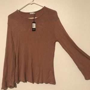 NWT Michelle by comune long sleeve cocoa